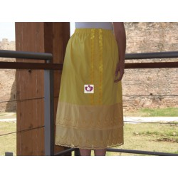 OSHUN YELLOW SKIRT
