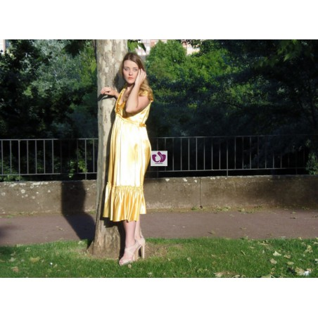 OSHUN YELLOW DRESS