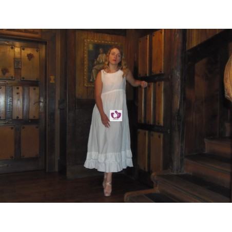 OVAL WHITE DRESS