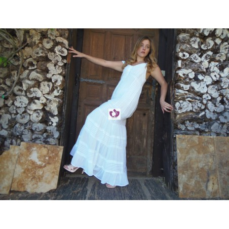 VESTIDO BLANCO COTTON