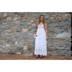 WOMEN'S WHITE DRESS