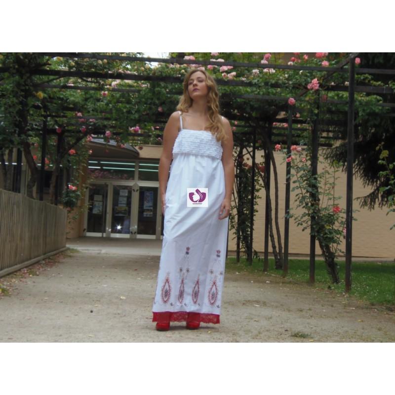 RED DRESS STYLE IBICENCOS