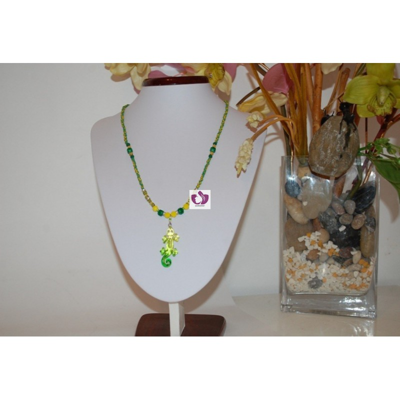ORUNMILA NECKLACE IN AUSTRIAN CRYSTAL