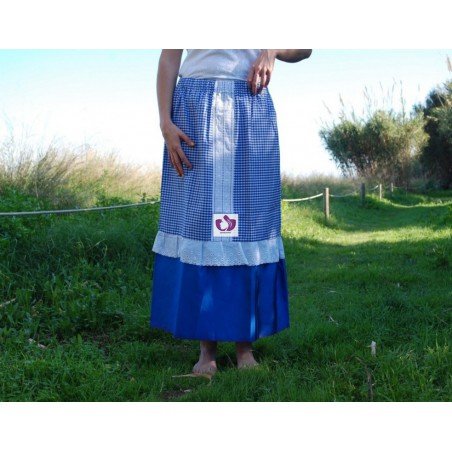 BLUE YEMAYÁ SKIRT MOARE