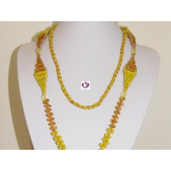 OSHUN INITIATION NECKLACE