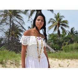 OSHUN INITIATION NECKLACE SET 3