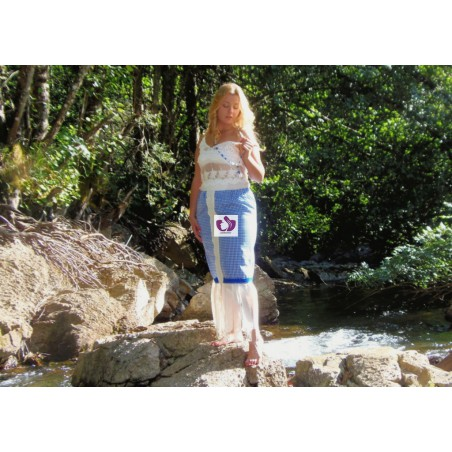 BLUE YEMAYÁ SKIRT