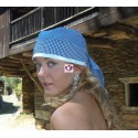 BLUE HEADSCARF YEMAYA