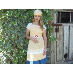 YELLOW APRON SET OSHUN